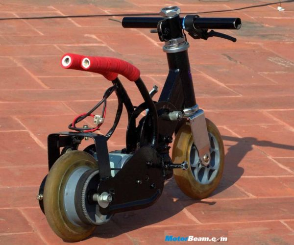Moosshiqk - World's smallest electric bike