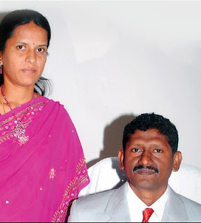 Sagayam IAS with Wife
