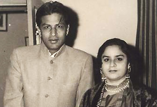 Shahrukh Khan's Parents