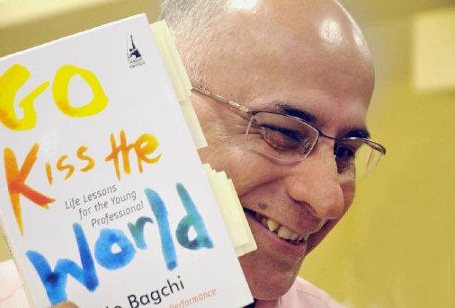 The Speech behind Go Kiss The World Book by Subroto Bagchi