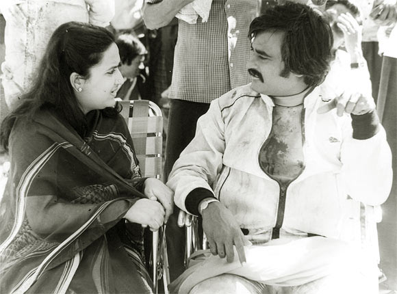 latha-and-rajinikanth