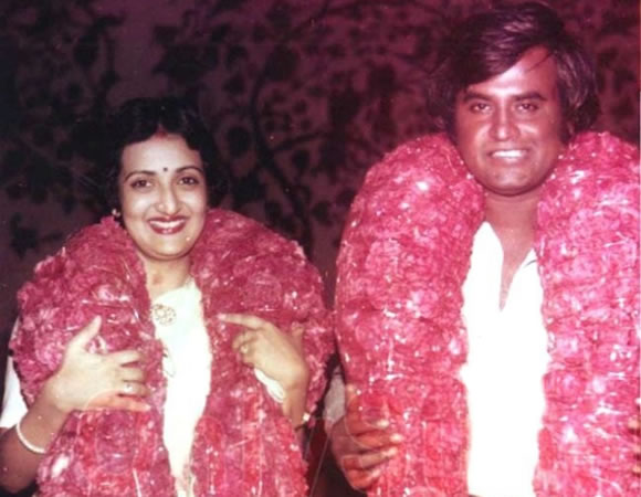 Rajinikanth Latha Wedding