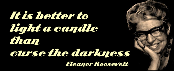 better to light a candle
