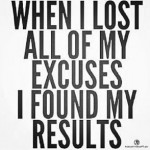 WhenILostMyExcuses Force Fitness Personal Training
