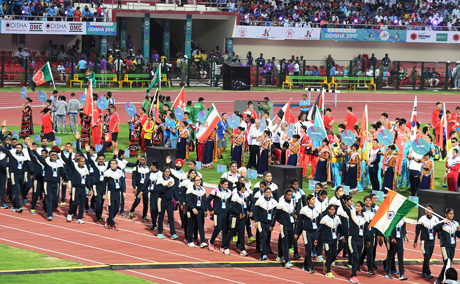 Indian Contingent at The Asian Athletics Championships 2017